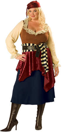 Buccaneer Beauty Plus Size Costume