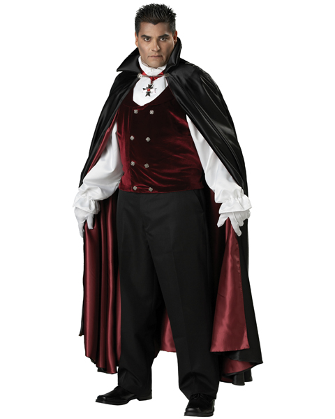 Plus Size Gothic Vampire Costume for Adult