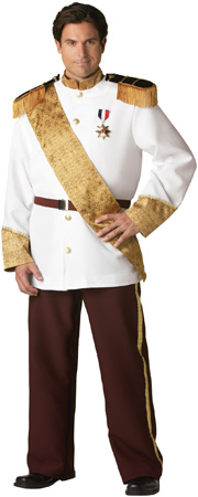 Plus Size Elite Prince Charming Costume for Adult