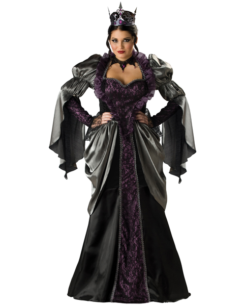 Elite Womens Plus Wicked Queen Costume