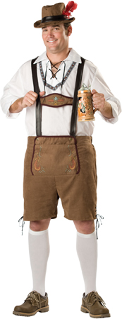 Oktoberfest Guy Plus Size Costume