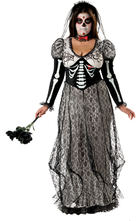 Boneyard Bride Plus Size Costume