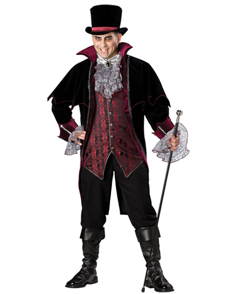Plus Size Elite Vampire of Versailles Mens Costume