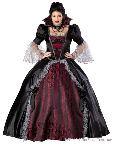 Vampiress of Versailles Plus Size Womens Costume