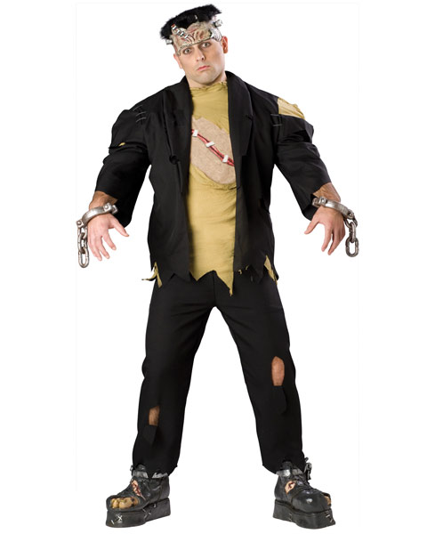 Plus Size Elite Monster Mens Costume