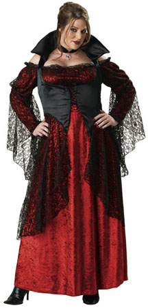 Vampiress Plus Size Costume for Women
