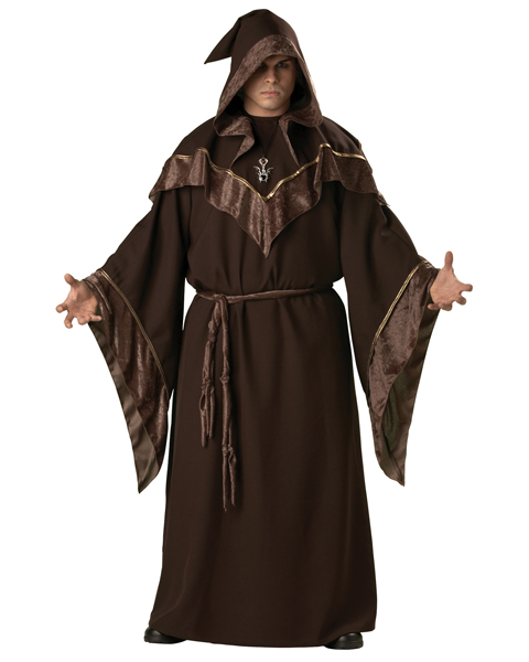 Plus Size Elite Mystic Sorcerer Costume For Adult