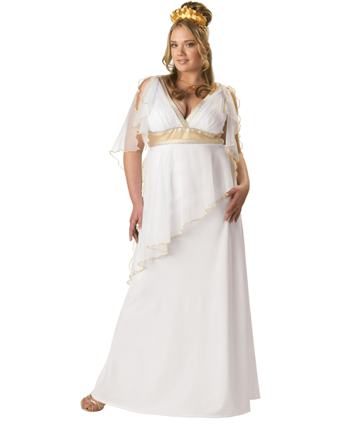 Plus Premier Greek Goddess Costume for Adult