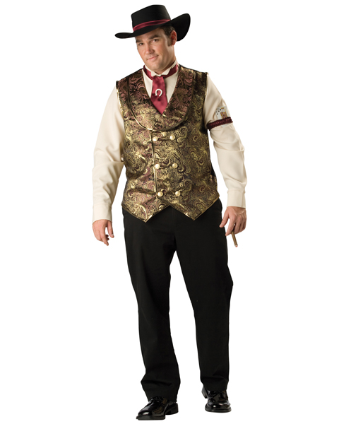 Premier Mens Plus Gambling Man Costume