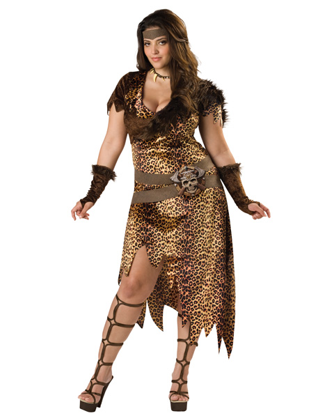 Barbarian Woman Adult Plus Size Costume