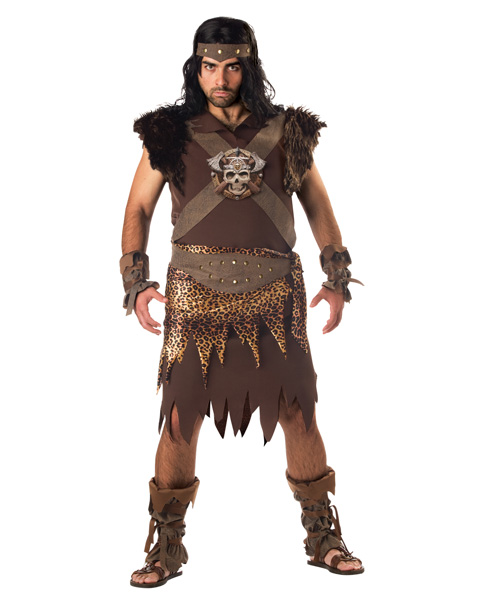 Barbarian Man Adult Plus Size Costume
