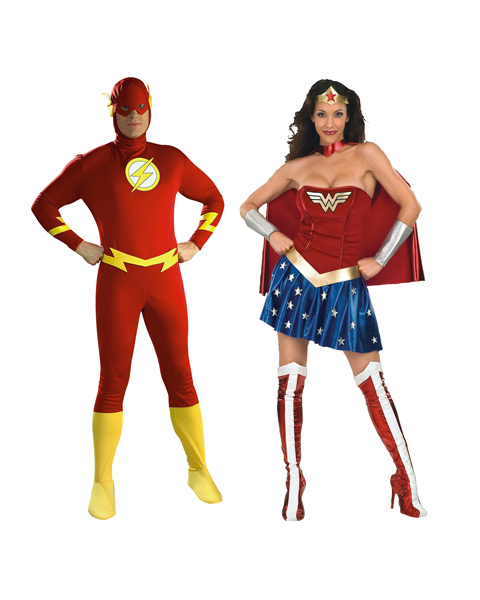 Wonder Woman Costume for Couple