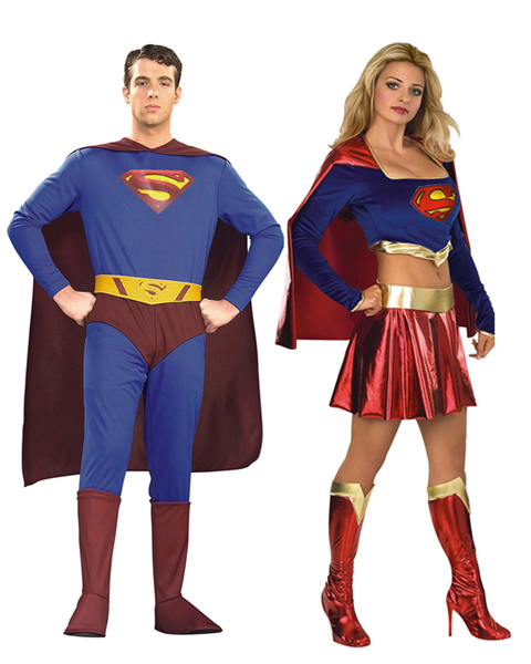 Supergirl Costume for Couple