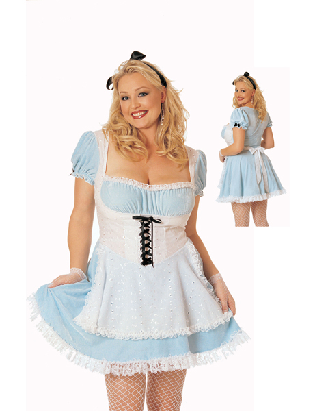 Plus Size Miss Wonderland For Adult