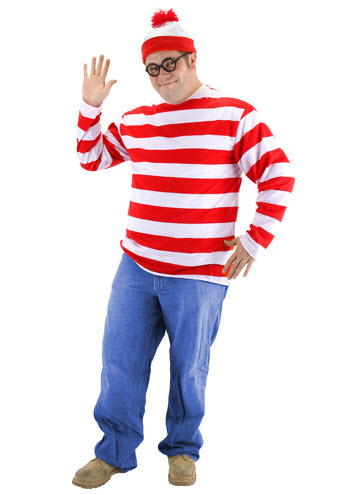 Wheres Waldo Costume Kit