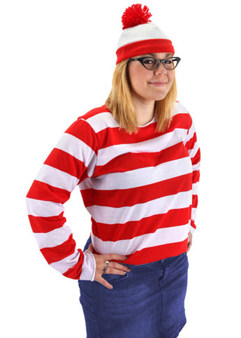 Where's Waldo Wenda Costume