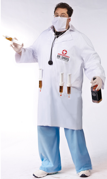 Dr Shots Plus Size Costume