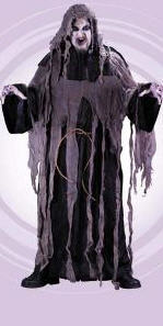 Gauze Zombie Robe Plus Size Adult Costume