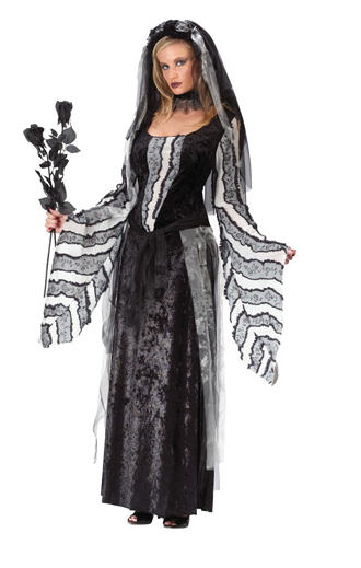 Black Spirit or Spooky Spirit Plus Size Adult Costume