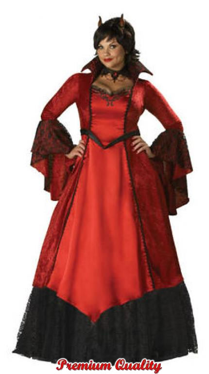 Devils Temptress Plus Size Costume
