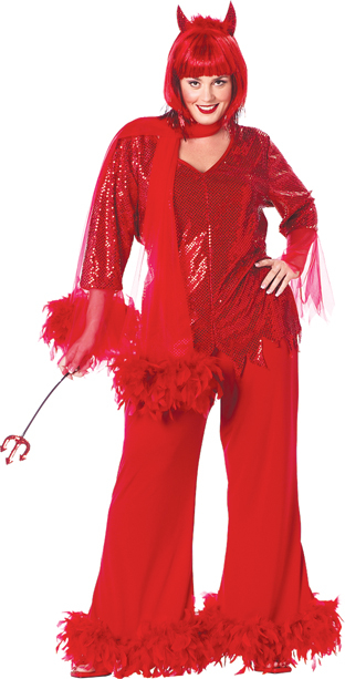 Red Hot Mama Plus Size Adult Costume
