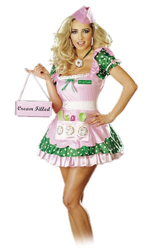 Christy Creams Plus Size Costume