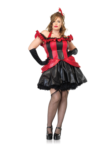 French Can Can Plus Size Costume