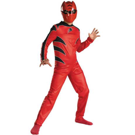 Power Rangers Jungle Fury Red Ranger Child Costume