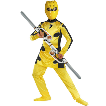 Power Rangers Jungle Fury Yellow Ranger Deluxe Child Costume