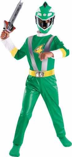 Power Rangers Green Ranger Classic Toddler/Child Costume