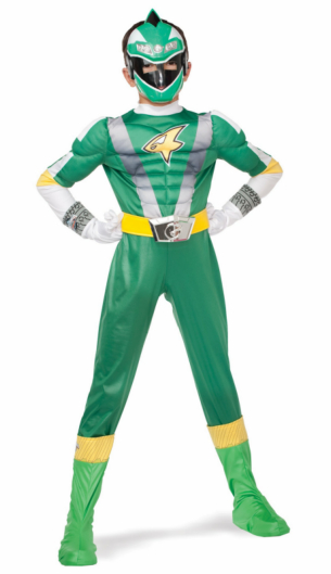 Power Ranger RPM Green Ranger Classic Muscle Child Costume