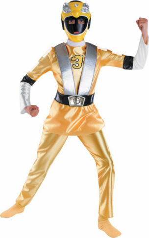 Power Ranger RPM Yellow Ranger Deluxe Child Costume