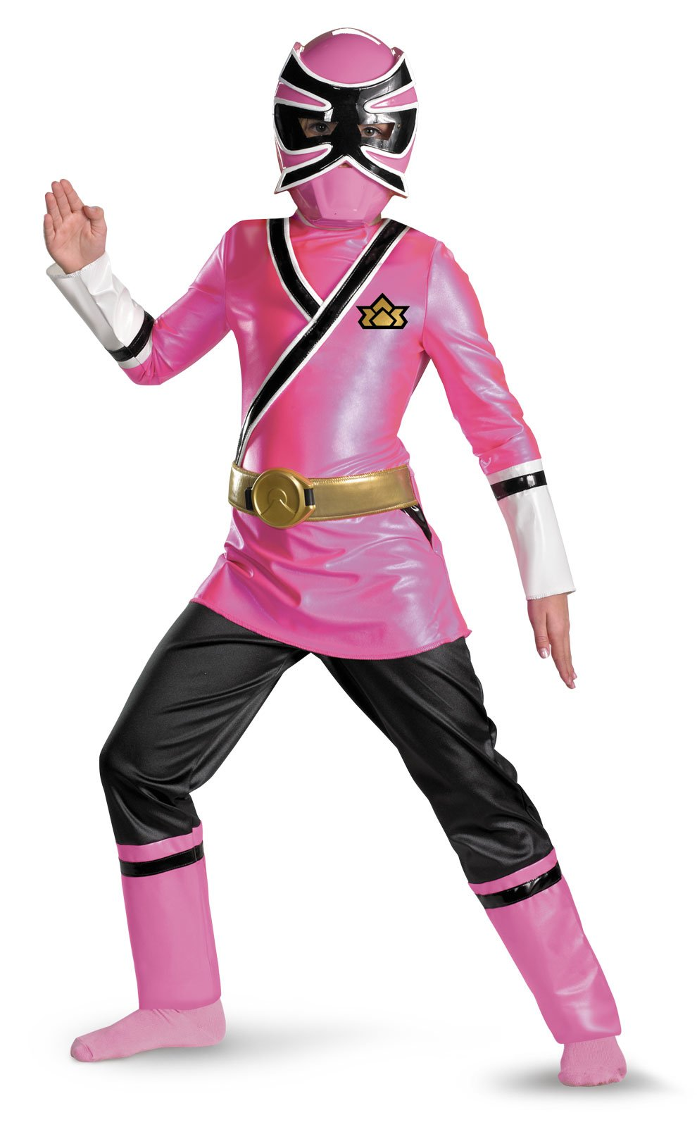Power Rangers Pink Samurai Ranger Deluxe Child Costume