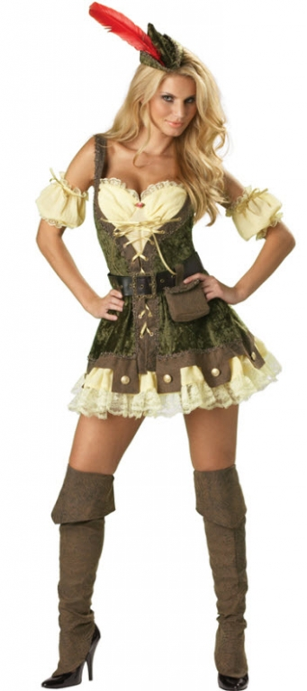 Racy Robin Hood Adult Costume