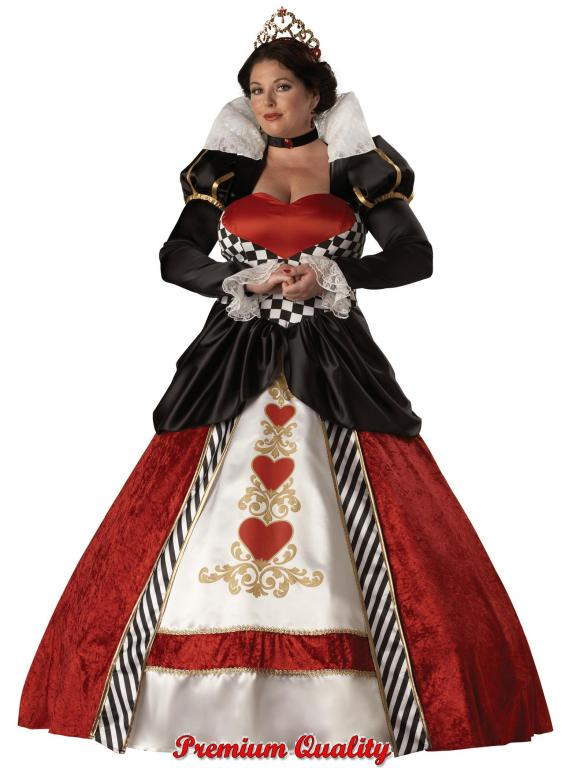 Queen Of Hearts Plus Size Adult Costume