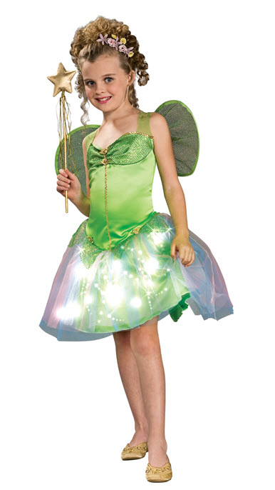 Fairy Fiber Optic Costume