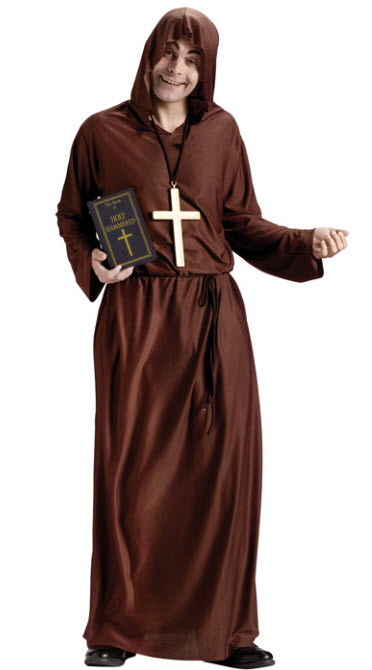 Drunk Monk Costume