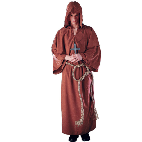Monk's Robe Plus Adult Costume