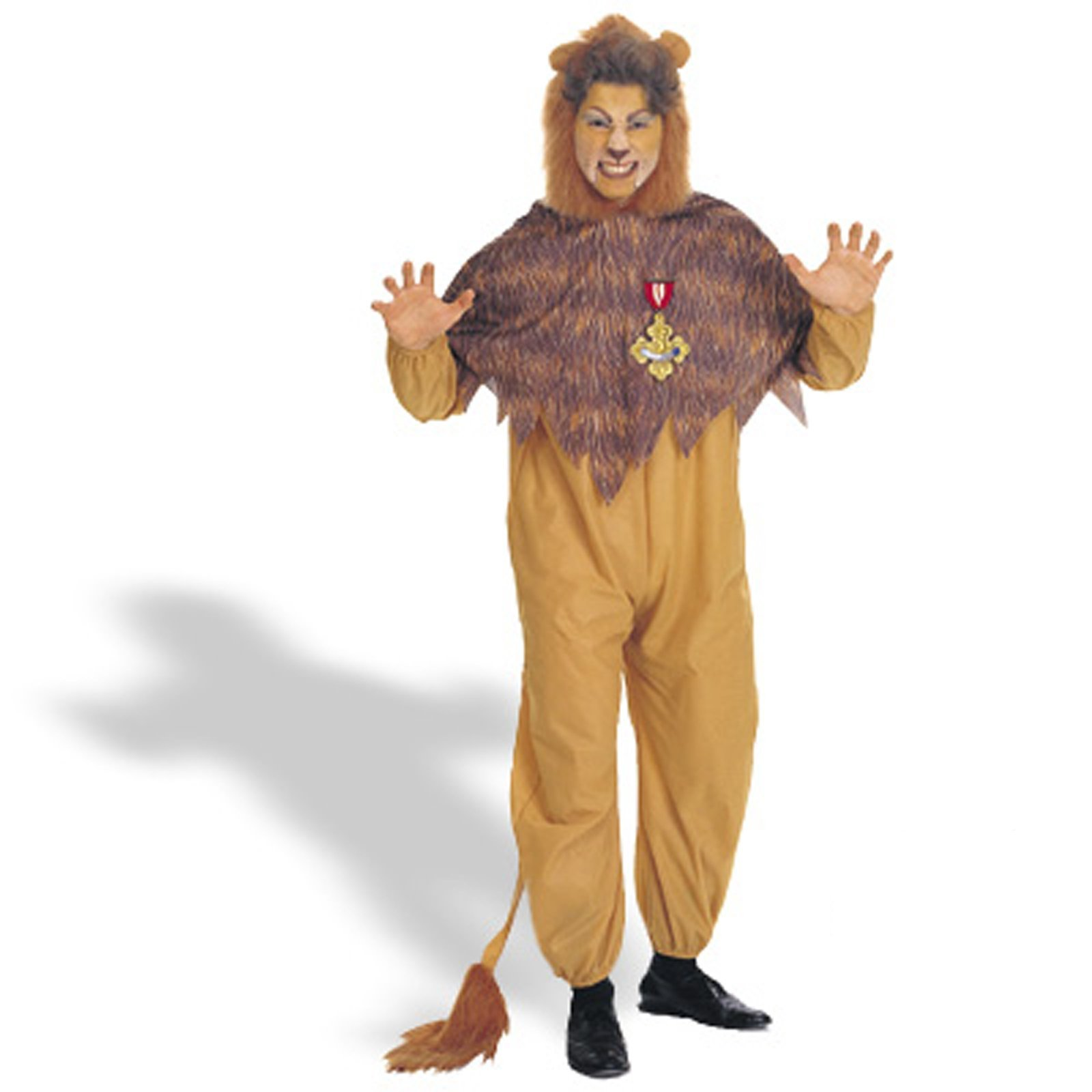 Wizard of Oz - Cowardly Lion Adult Plus Costume