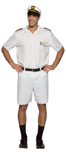 Love Boat Captain Stubing Costume