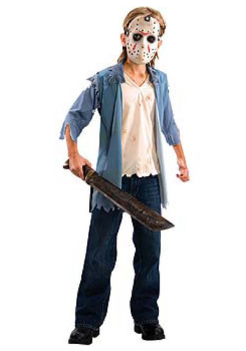 Deluxe Teen Jason Costume