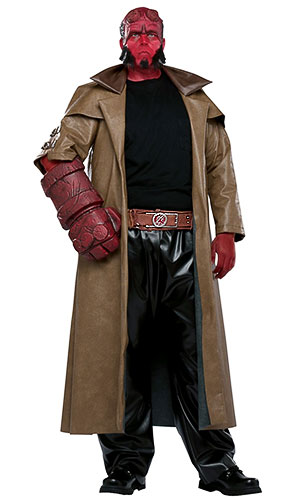 Plus Size Hellboy Costume