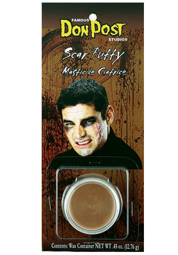 Scar Putty Makeup