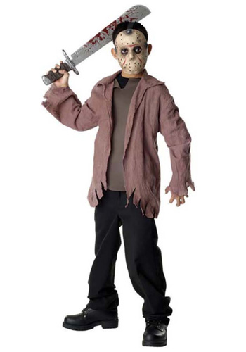 Boys Teen Jason Costume