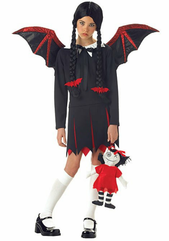 Very Bat Girl Child Costume