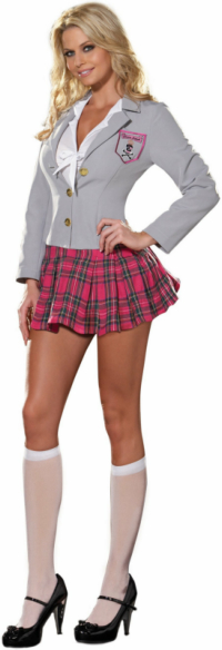 Charm School Dropout Adult Costume