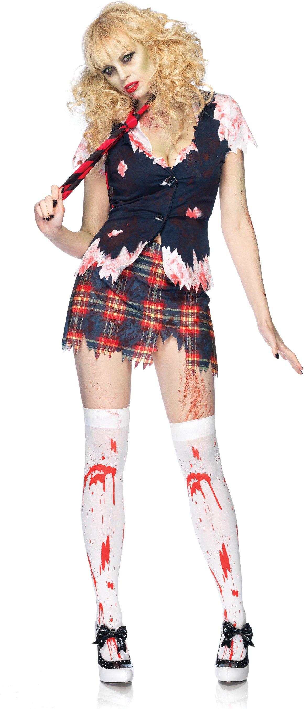 undead teacher s pet costume school girl in stock