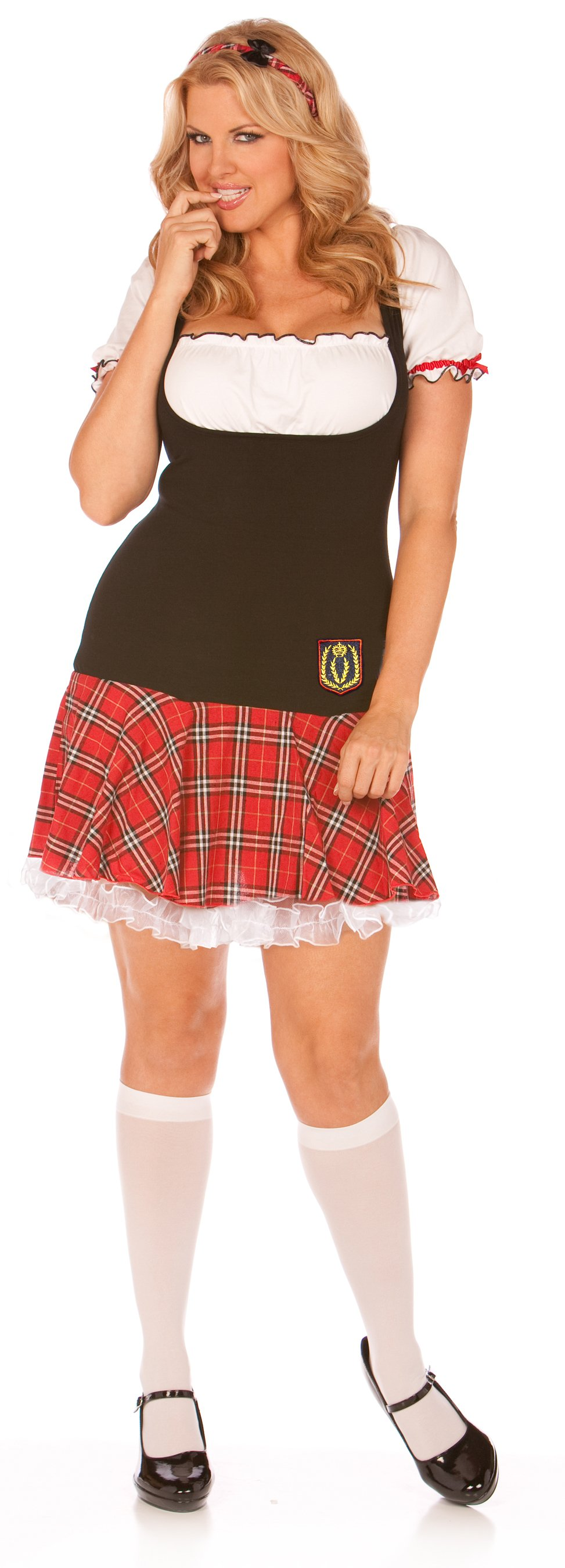 Frisky Freshman Plus Adult Costume