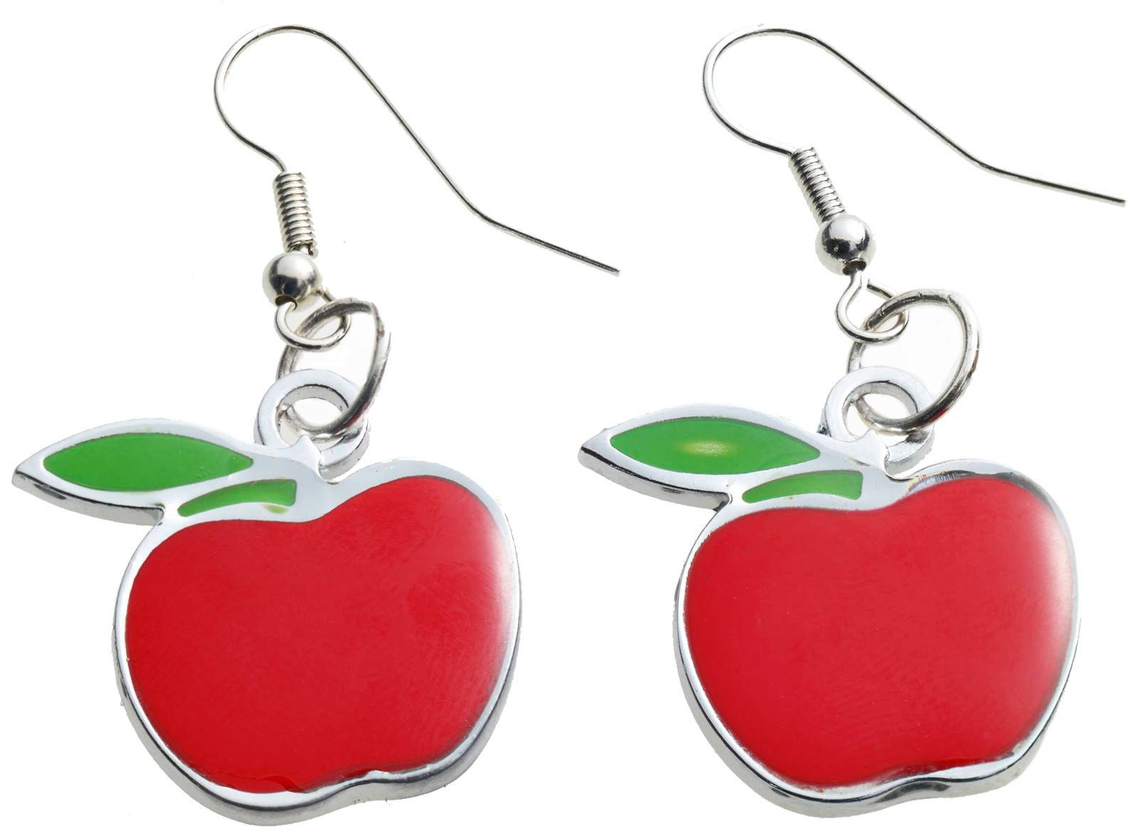Teacher's Pet Apple Adult Earrings