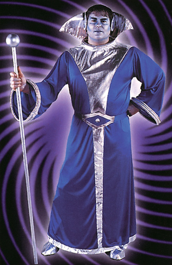 Galaxy King Queen Adult Costume